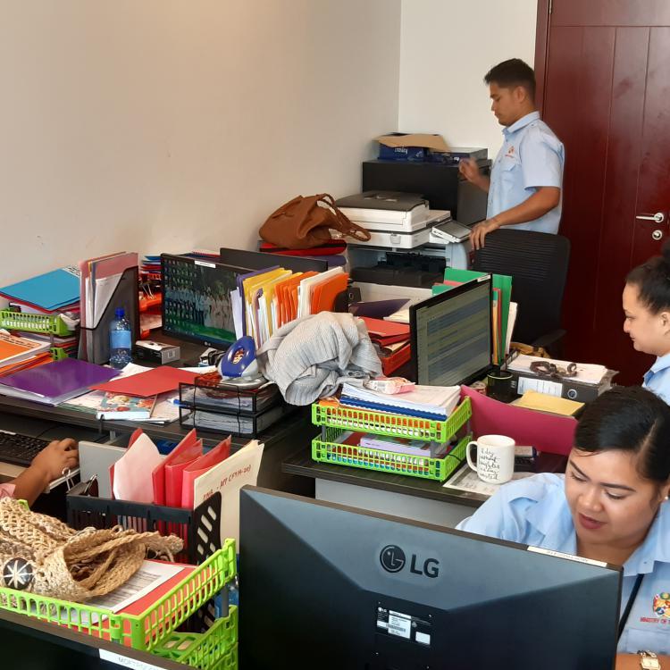 Procurement staff